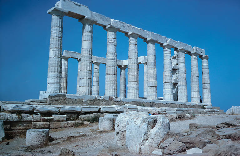 Temple of Poseidon, Mt Sounion, Greece